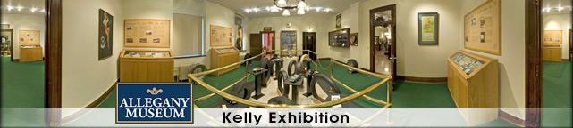 Allegany Museum - Kelly Exhibition