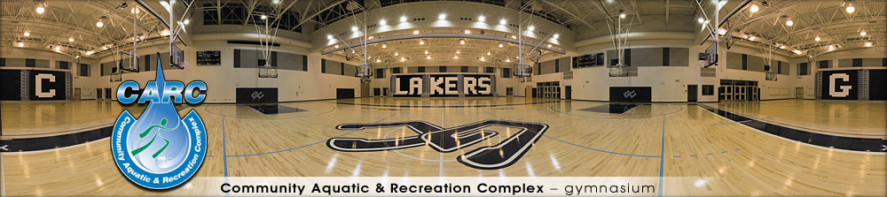 Community Aquatic & Recreation Complex - Gymnasium