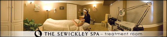 The Sewickley Spa Therapy Room