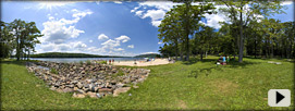 Deep Creek State Park beach